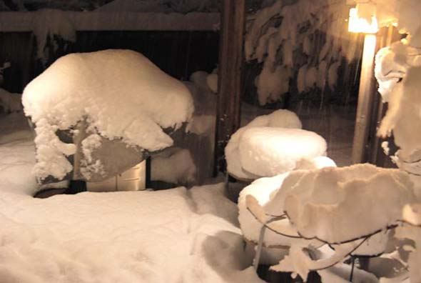 Boulder weather not great for cooking out on your patio.