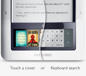 Barnes & Noble's nook e-book reader