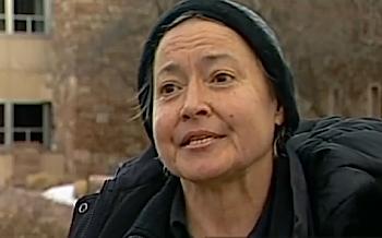 Homeless advocate Terri Sternberg