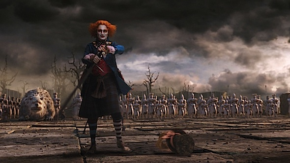 <em>Johnny Depp in Alice in Wonderland</em>