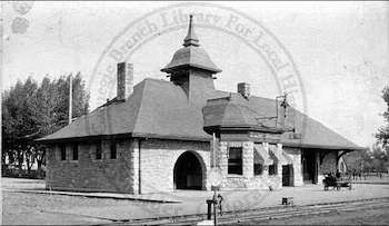 Union Depot in better days (Photo: Boulder Public Library)