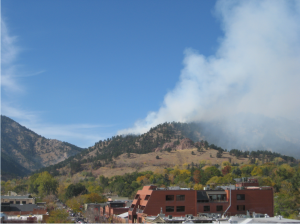 The Dome Fire as of noon Friday.