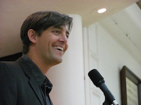 <cutline><strong>ENVIRO-HUNK:</strong> <em>Boulder's Regional Sustainability Coordinator Jonathan Koehn was among kickoff speakers.</em></cutline>