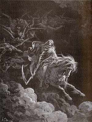 <cutline>Gustave Doré: <br />Death on the Pale Horse (1865)</cutline>