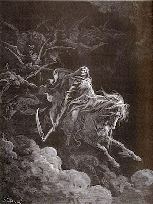 <cutline>Gustave Doré: <br />Death on the Pale Horse (1865)</cutline>