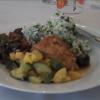An organic midsummer's dinner (video)