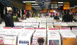Everything is on sale at Bart's CD Cellar in downtown Boulder, including the store's large collection of vinyl in its second floor room. Used vinyl is going for 40 percent off, and collectors are shopping hard.
