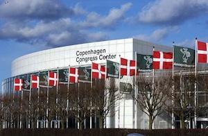 The conference center in Copenhagen