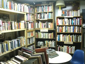Little Horse Books, owned by Michael Price, operates in the same store as Absolute Vinyl, run by Doug Gaddy.