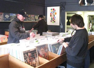 Absolute Vinyl carries about 10,000 albums of the 40,000 owned by Doug Gaddy.