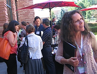 The friendly crowd at the LOHAS conference (Photos: Michael Signorella)