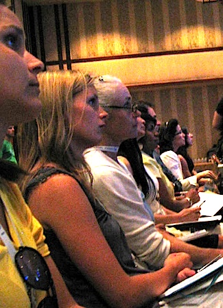 Attention was riveted during the presentations