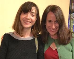 Event moderator Maeve Conran of KGNU and Susan Greene, Colorado Independent editor (Reporter photo)