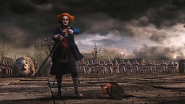 <em>Johnny Depp in Alice in Wonderland</em>