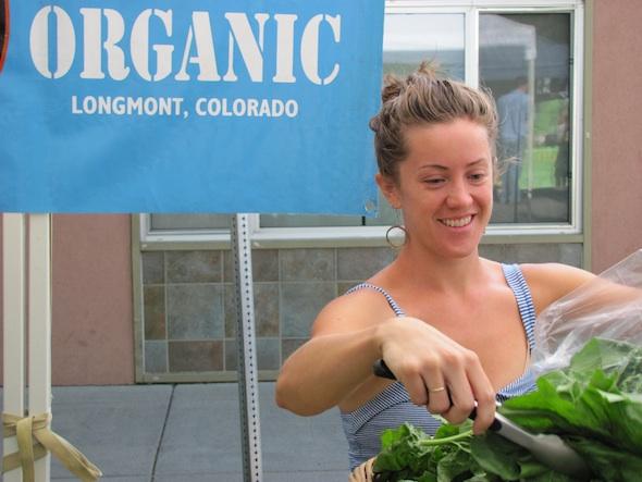 Ariel Hall of Certified Organic, Longmont
