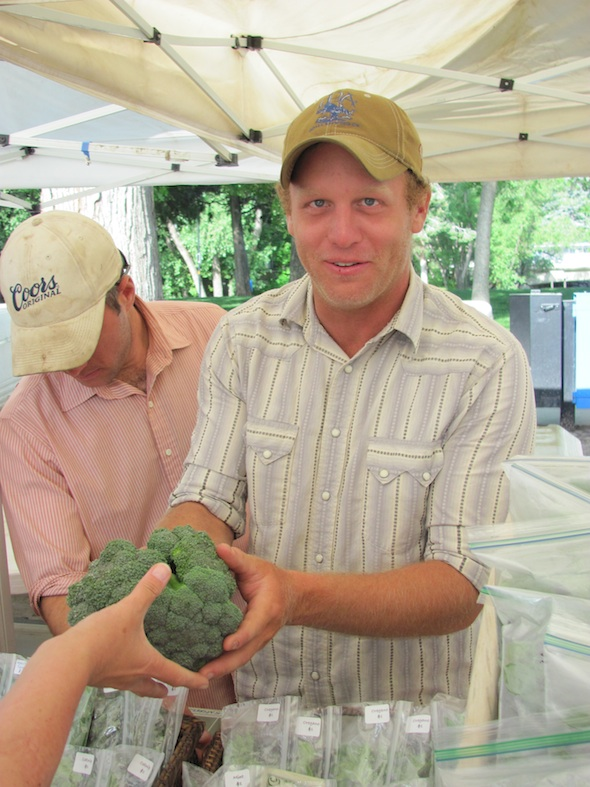 Chad Chriestenson of Red Wagon Organic Farm, Boulder