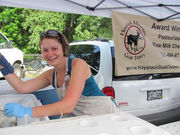 Hilary Van Dusen of Haystack Mountain Goat Dairy, Longmont