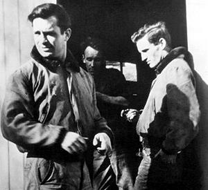Jack Kerouac (left) with Neal Cassady (Photo: PBS/Photofest)