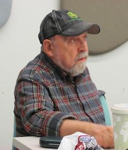 Paul Danish at PLAN Boulder County forum (Reporter photo)