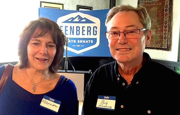 Regina Cowles and Bob Morehouse