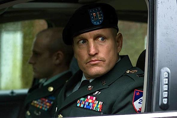 Woody Harrelson in scene from <em>The Messenger</em>