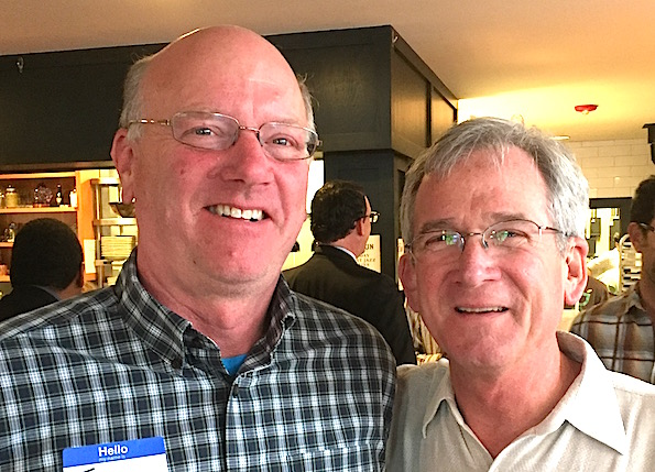 Boulder City Council members Tim Plass and Macon Cowles